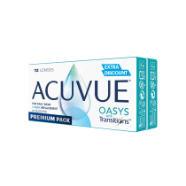 ACUVUE® OASYS with Transitions™ Premium Pack 12 soczewek