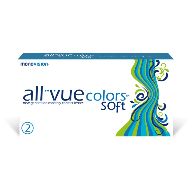 MonoVision All Vue Colors Soft 2 sztuki