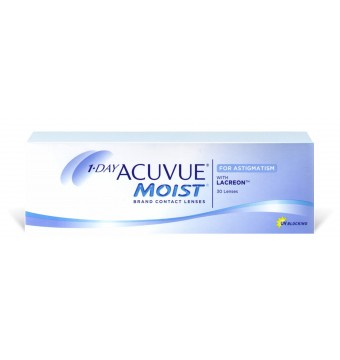Acuvue 1-Day Moist for Astigmatism  30 sztuk