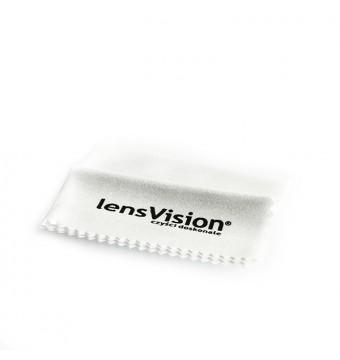 Ściereczka do okularów biała - 1 sztuka