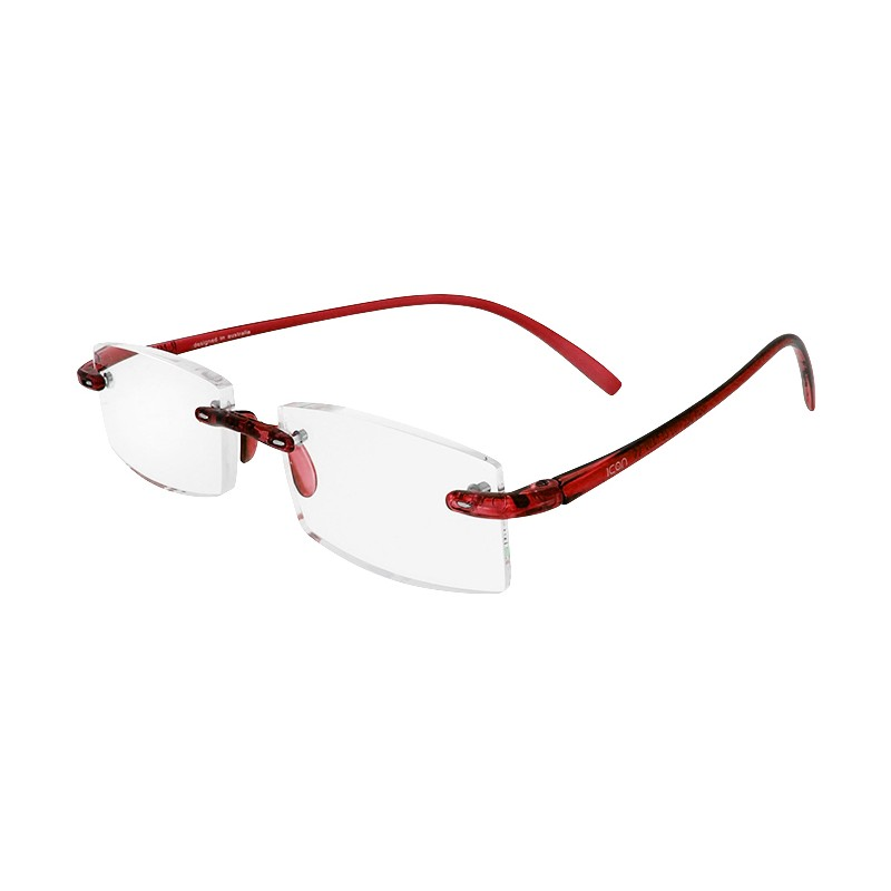 ICON SEE i105 RED - Okulary do czytania