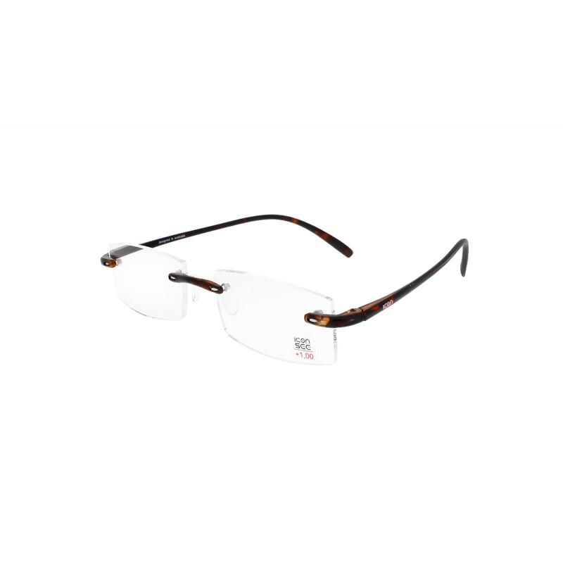 ICON SEE i105 BROWN- Okulary do czytania