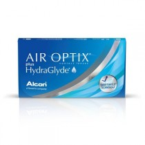Air Optix plus Hydra Glyde 3 sztuki