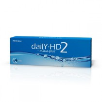MonoVision Daily HD2 aQua plus™ 30 sztuk