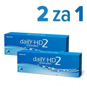 Daily HD2 aQua plus™ - 2za1 - 60 sztuk