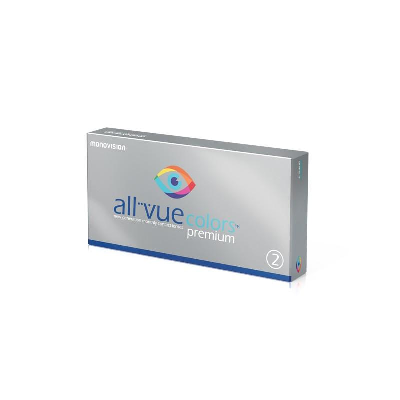 MonoVision All Vue Colors Premium - 2 sztuki