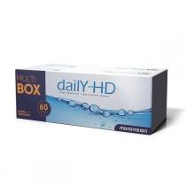 MonoVision Daily HD 60 sztuk - MultiBOX