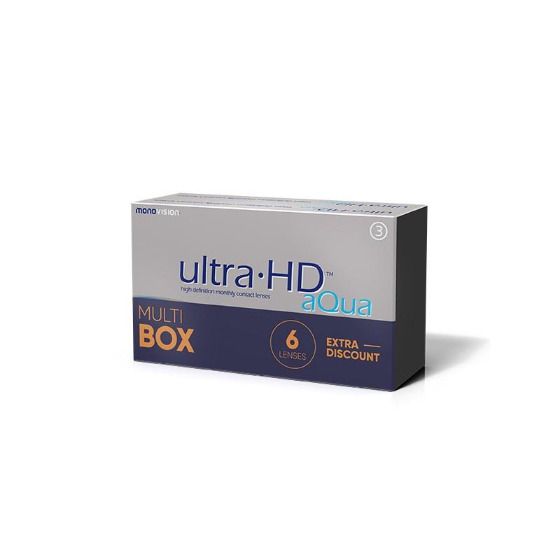 MonoVision Ultra HD Aqua 6 sztuk - MultiBOX