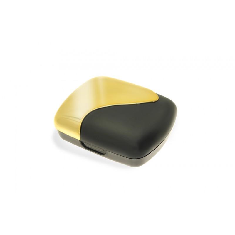 Kolorowe etui z pęsetą - Czarno-złote