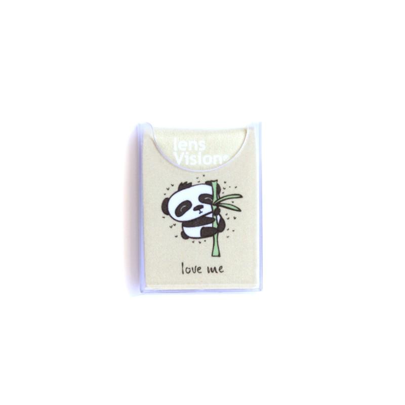 Czyścik do okularów Beżowa Panda