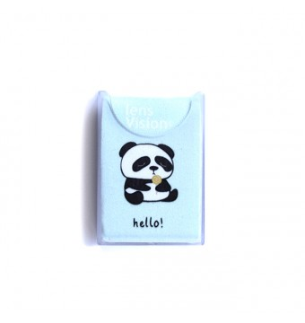 Czyścik do okularów Błękitna Panda