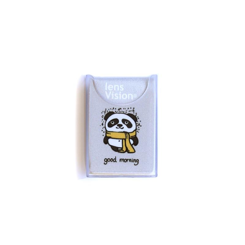 Czyścik do okularów Fioletowa Panda