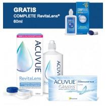 Acuvue® Oasys 6 soczewek + płyn Acuvue RevitaLens® 100 ml