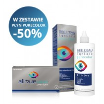 Zestaw SEE L'EAU PureColor 360ml + All Vue Colors™ Premium