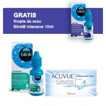 Acuvue Oasys + Blink Contacts + Blink Intensive GRATIS
