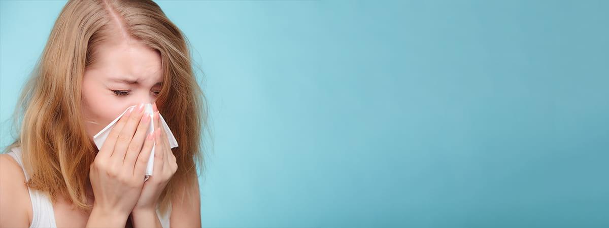 Czy można nosić soczewki podczas przeziębienia?